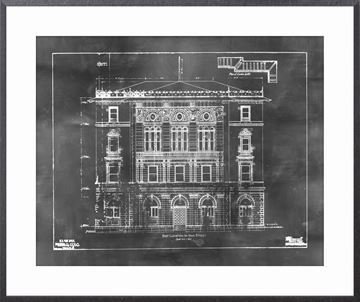 Picture of Blueprint - East Elevation