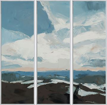 Picture of Retreat - Triptych - Framed Canvas