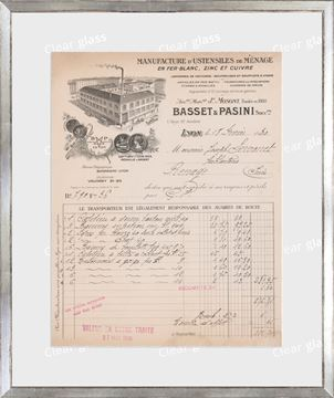 Picture of Collection 10 - French Receipt V