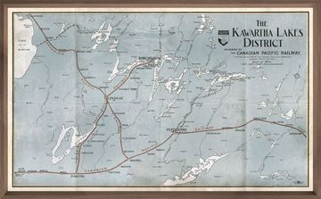 Picture of Map - Kawartha Lakes - Large