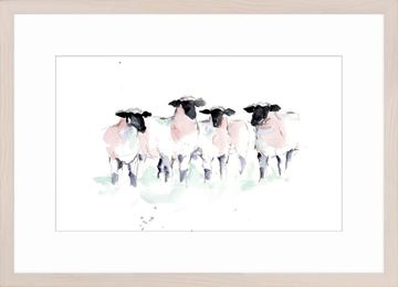 Picture of Watercolour Sheep II
