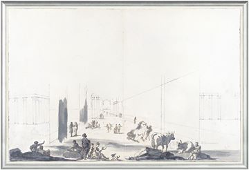 Picture of Italian Perspective, Bologna 1779