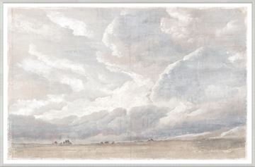 Picture of Study of Clouds Near Rome, 1801