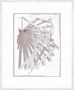 Picture of Palm Pressings II - Lilac Grey
