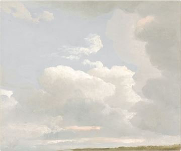 Picture of Cloud Study, 1800s - Gallery Wrap Canvas