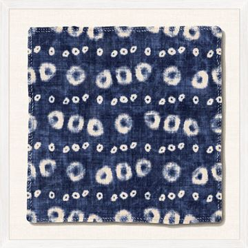 Picture of Indigo Textile III - Large