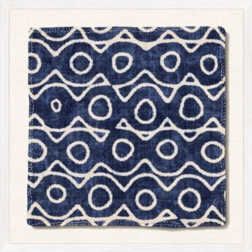 Picture of Indigo Textile IX - Large
