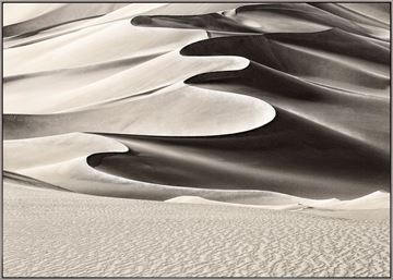 Picture of High Desert Dune - Framed Canvas