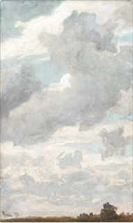 Picture of Air Study C. 1873 - Gallery Wrap Canvas