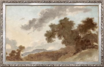 Picture of Petite Scapes - Mountain Landscape at Sunset C. 1765