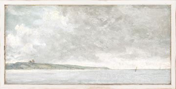 Picture of Petite Scapes - Coastal Scene with Cliffs C. 1814