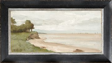 Picture of Petite Scapes - Beach Near Etretat C. 1872