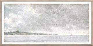Picture of Coastal Scene with Cliffs C. 1814