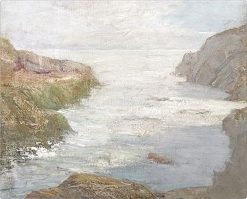 Picture of At Low Tide, C. 1841 - Gallery Wrap Canvas
