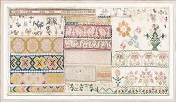 Picture of Embroidery Sampler, Circa 18th C. III