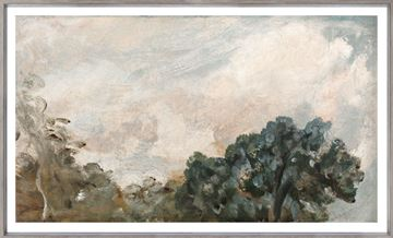 Picture of Cloud Study with Trees C. 1821