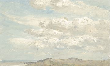 Picture of Top of the Dune C. 1850 - Gallery Wrap Canvas