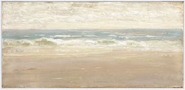 Picture of Seascape II C. 1860 - Framed Canvas