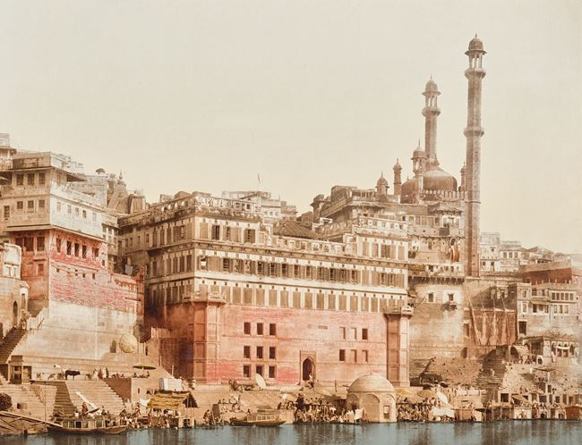 Picture of Acrylic - Benares, India 19th C