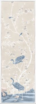 Picture of Chinoiserie Panel II C. 1890 - Pastel - Large