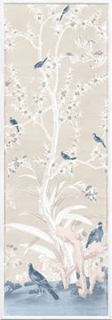 Picture of Chinoiserie Panel III C. 1890 - Pastel - Large