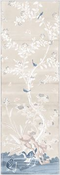 Picture of Chinoiserie Panel I C. 1890 - Pastel - Framed Canvas