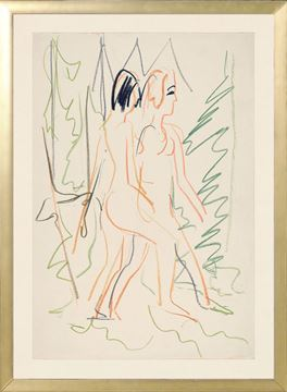 Picture of Collection Vintage - Two Nudes in a Forest, 1925 - Small