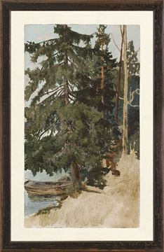 Picture of Collection Vintage - Treescape, 1886 - Small