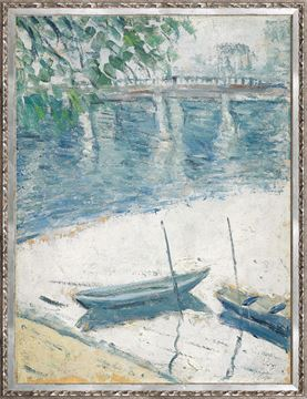 Picture of Collection Vintage - Morning on the Seine, 1921 - Large