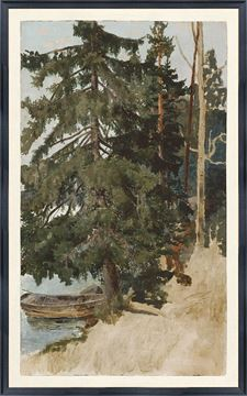 Picture of Collection Vintage - Treescape, 1886 - Large
