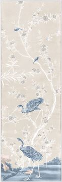 Picture of Chinoiserie Panel II C. 1890 - Pastel - Framed Canvas
