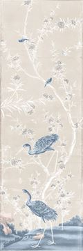 Picture of Chinoiserie Panel II C. 1890 - Pastel - Gallery Wrap Canvas