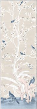 Picture of Chinoiserie Panel III C. 1890 - Pastel - Framed Canvas